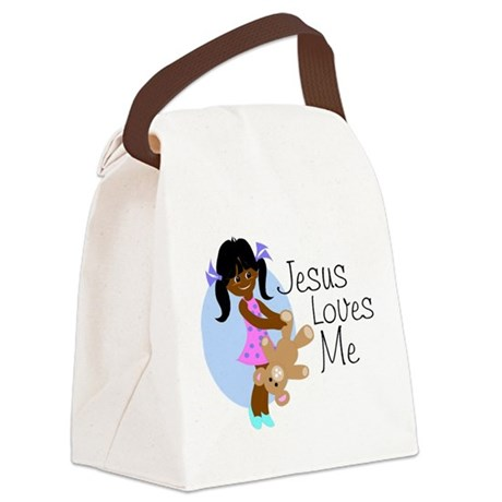 lovesmeabcd.png Canvas Lunch Bag