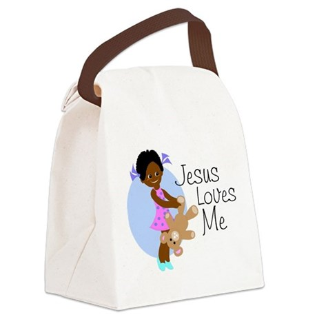 lovesme1abcde.png Canvas Lunch Bag