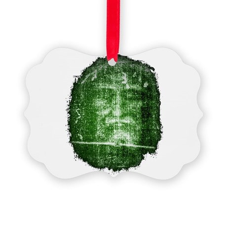 Shroud of Turin Picture Ornament