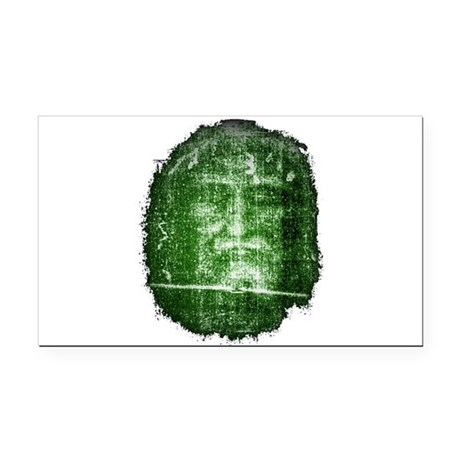Shroud of Turin Rectangle Car Magnet