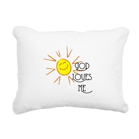 lovesme2.png Rectangular Canvas Pillow