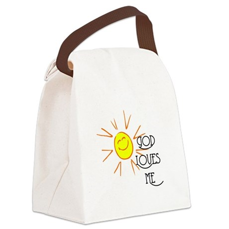 lovesme2.png Canvas Lunch Bag
