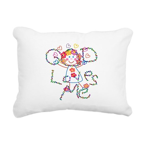 godloves2.png Rectangular Canvas Pillow