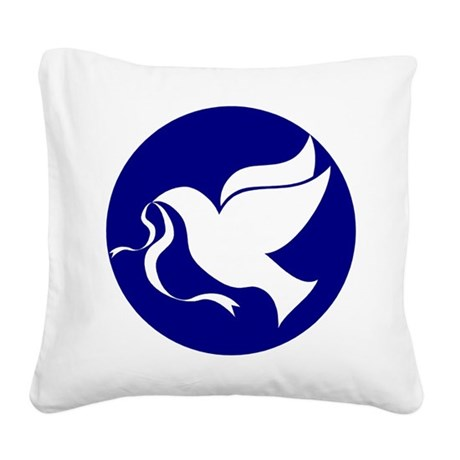 dovepeace.png Square Canvas Pillow