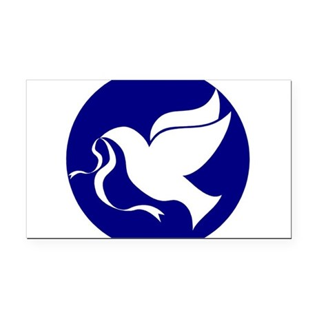 dovepeace.png Rectangle Car Magnet