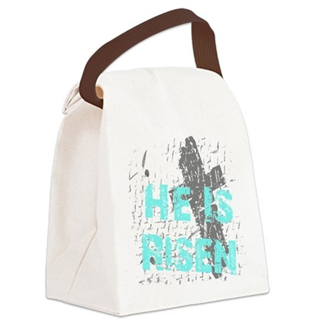 risen1c.png Canvas Lunch Bag