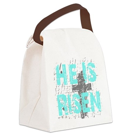 risen1a.png Canvas Lunch Bag