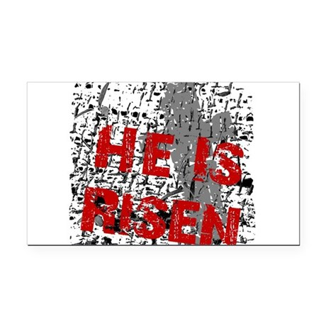 risen1c2.png Rectangle Car Magnet