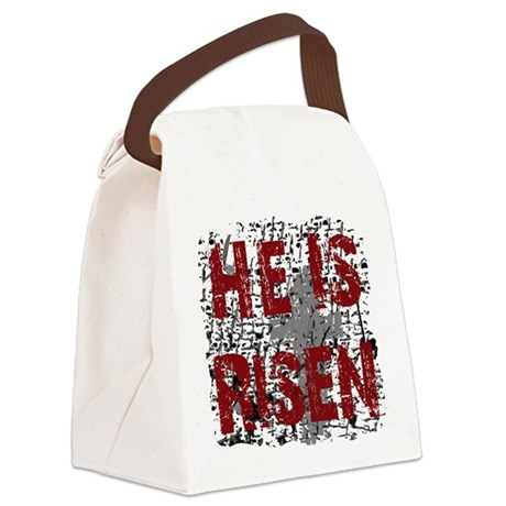 risen1.png Canvas Lunch Bag