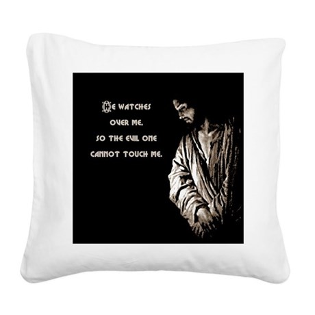 watches1.png Square Canvas Pillow