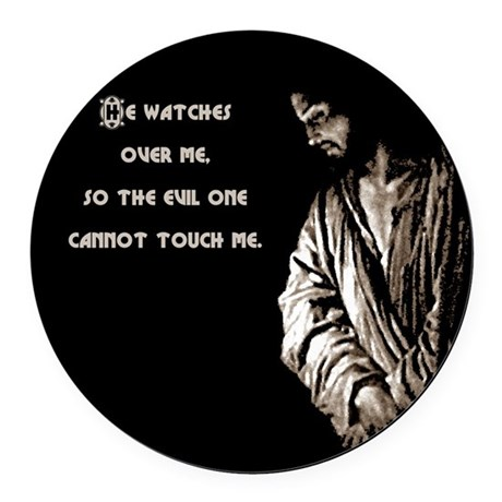 watches1.png Round Car Magnet