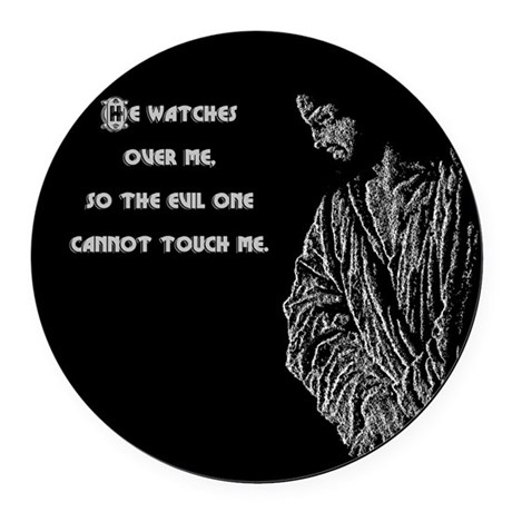 watches1b.png Round Car Magnet