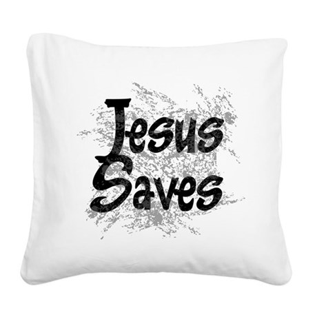 grunge2.png Square Canvas Pillow