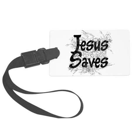 grunge2.png Large Luggage Tag