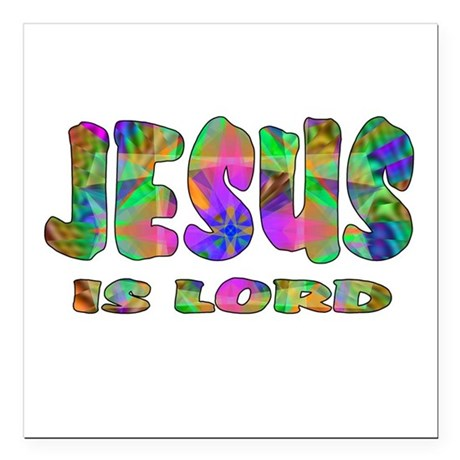 "lord1.png Square Car Magnet 3"" x 3"""