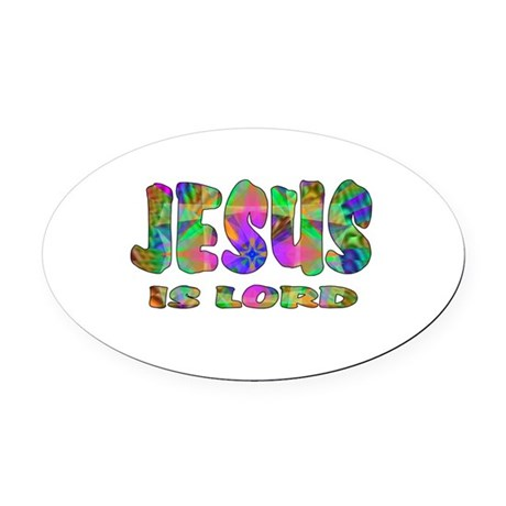 lord1.png Oval Car Magnet