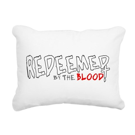 reedeemed2c2.png Rectangular Canvas Pillow