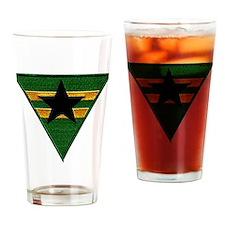 Brownshirt Logo Drinking Glass