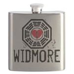 I Heart Widmore - LOST Flask