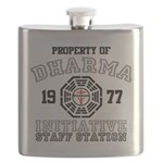 Property of Dharma - Staff Flask