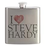 I Heart Steve Hardy Flask