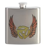 Red Winged 45 RPM Adap Flask