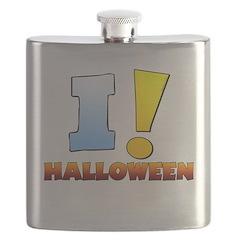 I ! Halloween Flask