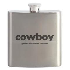 generic cowboy costume Flask