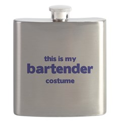 this is my bartender costume Flask