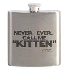 Never... Ever... Call Me Kitten Flask