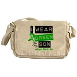 I Wear Green For My Son Messenger Bag