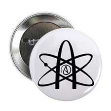 "Atheism Symbol 2.25"" Button"