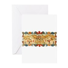 Jerusalem and the Hills Aroun Greeting Cards (Pack