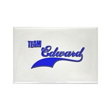 Team Edward Rectangle Magnet (100 pack)