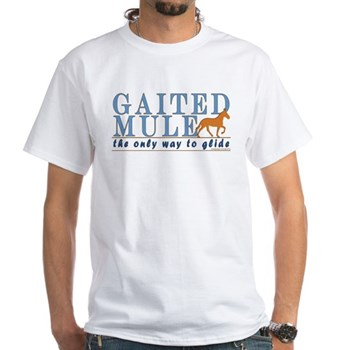 Gaited Mule the only way to glide t-shirt