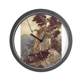Brunnhilde Wall Clock