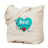 Best Nursing Preceptor blue.PNG Tote Bag