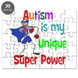 Autism is my Unique Super Power Puzzle