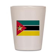 mozambique flag Shot Glass