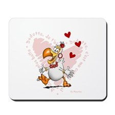 Dodo girl Mousepad