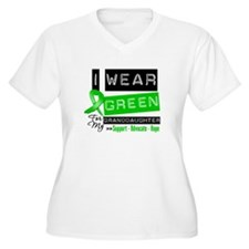 Green Ribbon Granddaughter T-Shirt