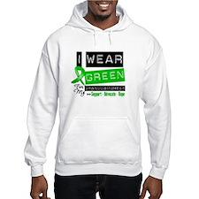 Green Ribbon Granddaughter Hooded Sweatshirt