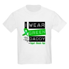 I Wear Green Ribbon For My Daddy T-Shirt
