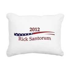 RickSantorum.png Rectangular Canvas Pillow