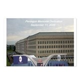 Pentagon Memorial Dedication Postcards (Package of