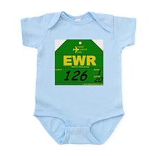 EWR - Newark, NJ Infant Creeper