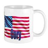 Cory Personalized USA Flag Mug