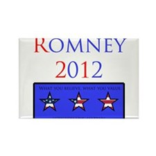 Romney 2012 Rectangle Magnet