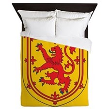 Scotland Emblem Queen Duvet