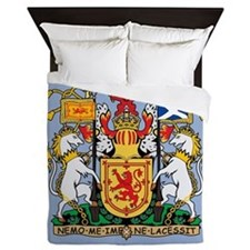 Scotland Coat Of Arms Queen Duvet